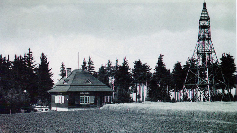 Chata M. Švabinského na počátku 20. století